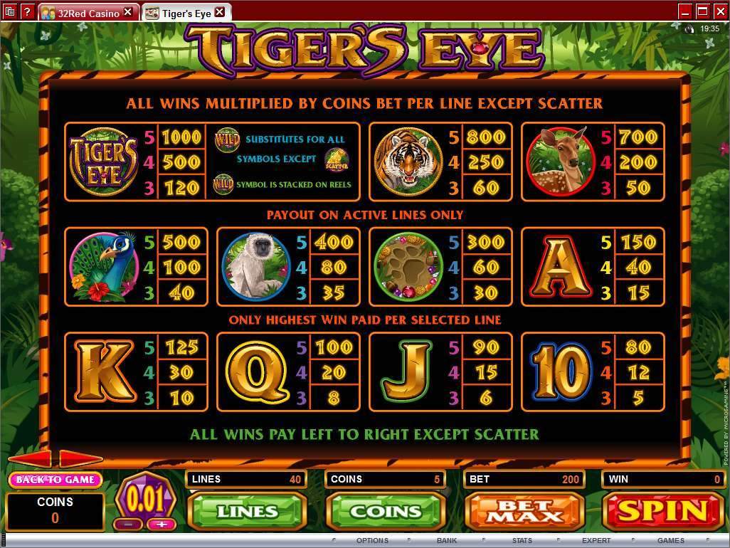3 tigers slot game
