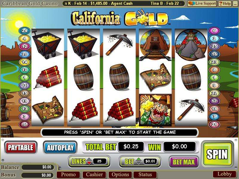 casino slots california