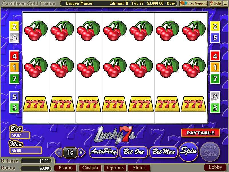 free slots lucky 7