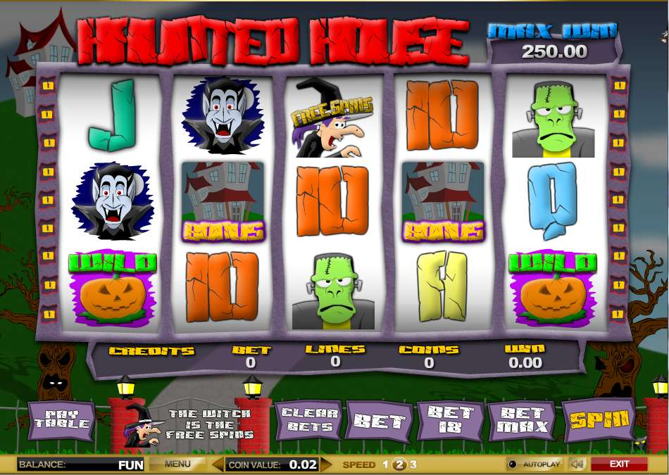 House of Fun Slots - Try this Haunted House Slot