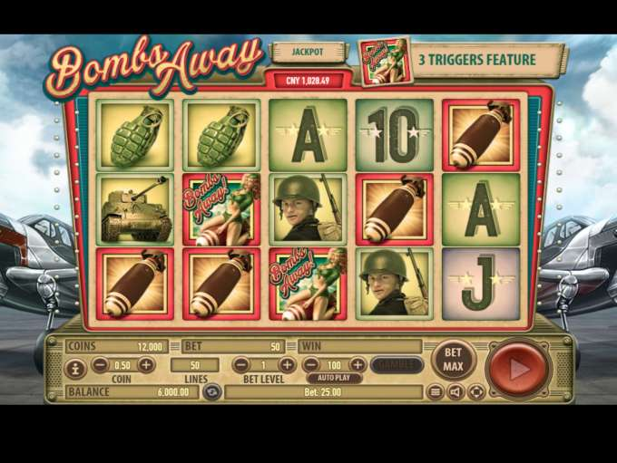 Bombs Away Slot - Read a Review of this Habanero Casino Game