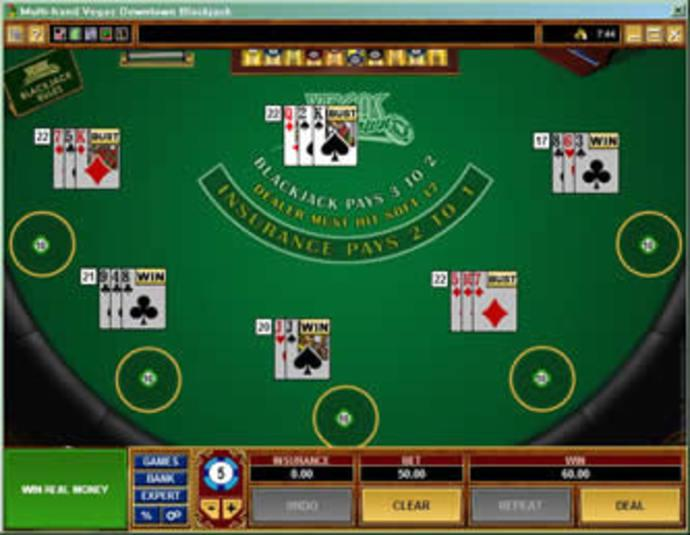 Blackjack MH Table Game - Casumo Casino