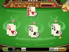Multihand blackjacksidebet ww