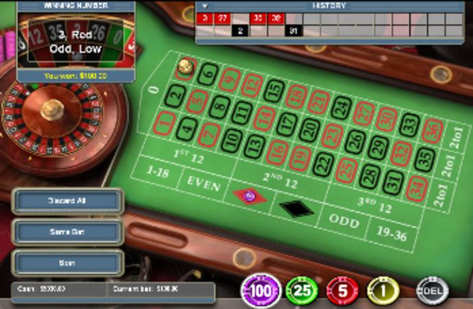 roulette flash game free download