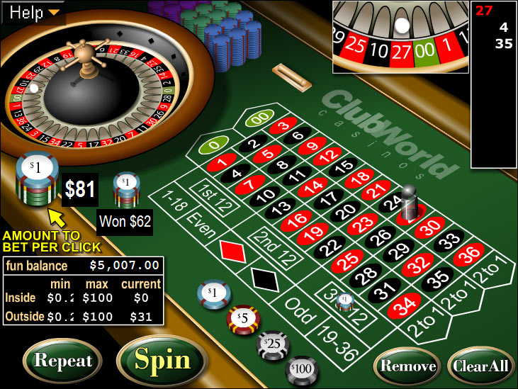 casino betting online european roulette