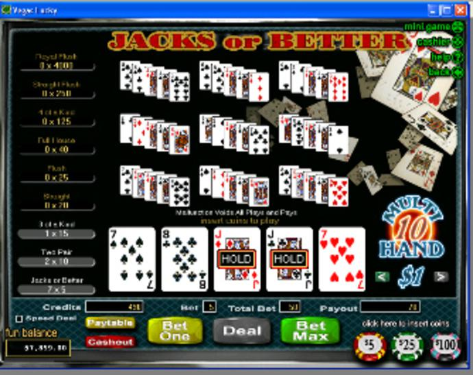 Spiele Jacks Or Better - 52 Hands - Video Slots Online