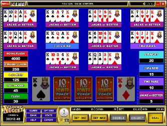 Play 10-Line Jacks or Better Video Poker Online at Casino.com