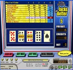 Videopoker player