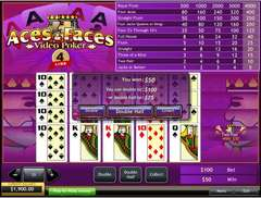 Aces 20and 20faces 204 20line 20video 20poker